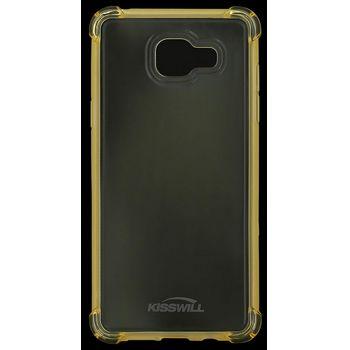 Kisswill Shock TPU pouzdro pro Samsung A510 Galaxy A5 2016, zlatá