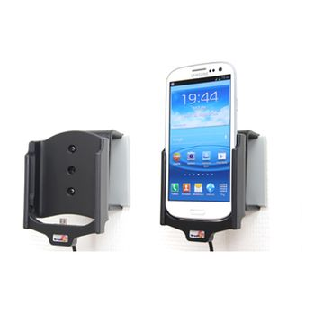 Brodit držák do auta na Samsung Galaxy S III i9300 pez pouzdra, se skrytým nabíjením