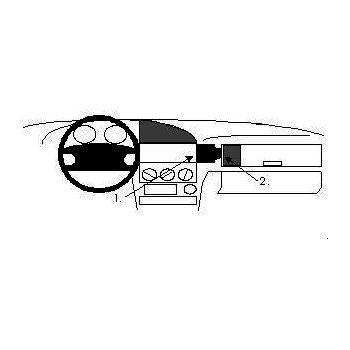 Brodit ProClip montážní konzole pro BMW 316-328 E36 91-98