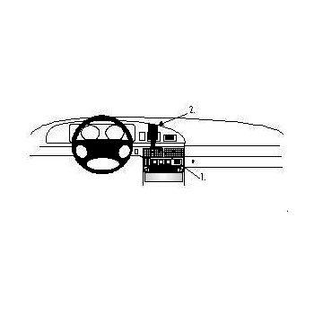 Brodit ProClip montážní konzole pro Lada Samara 97-04