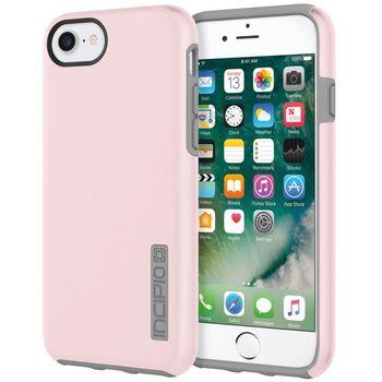 Incipio ochranný kryt DualPro Case pro Apple iPhone 7/6S/6, růžová/šedá