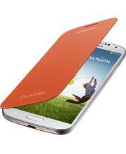 Samsung flipové pouzdro EF-FI950BO pro Galaxy S4 (i9505), oranžové