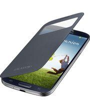 Samsung flipové pouzdro S-view EF-CI950BB pro Galaxy S4 (i9505), černé, rozbaleno
