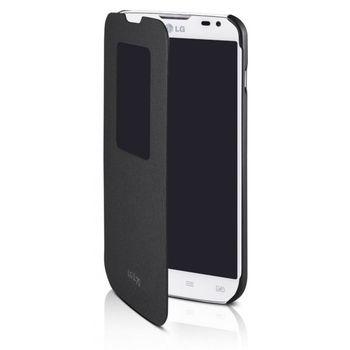 LG flipové pouzdro QuickWindow CCF-400 pro LG L70, černé