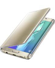 Samsung flipové pouzdro Clear View EF-ZG928CF pro Galaxy S6 edge+ (G928), zlaté