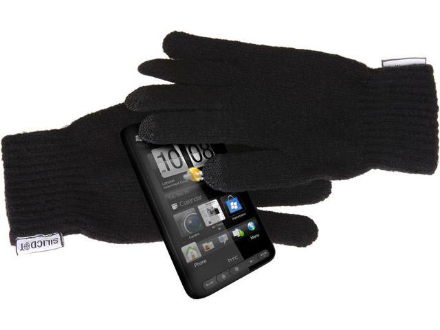 obsah balení 2x kapacitní rukavice SilicDOT - pánská a dámská velikost