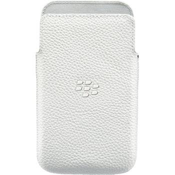 BlackBerry kožené pouzdro pro BlackBerry Classic, bílé