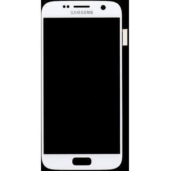 Náhradní díl LCD display + Dotyk Samsung G930 Galaxy S7 bílá