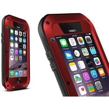 Brando LOVE MEI odolné ochranné pouzdro pro Apple iPhone 6 Plus, červené