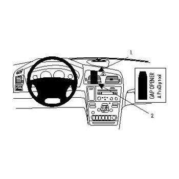 Brodit ProClip montážní konzole pro Volvo XC70 00-07/V70 N 00-08/S60 00-10, zesílený, na střed