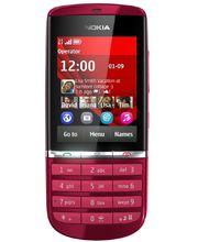 Nokia Asha 300 červená
