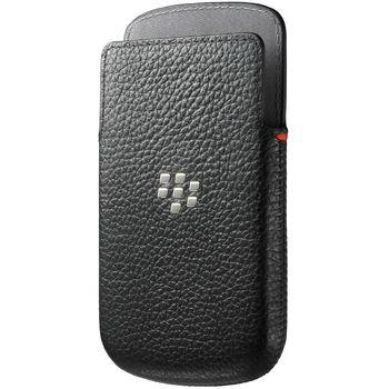 Blackberry kožené pouzdro pro BlackBerry Z30, černé