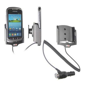 Brodit držák do auta na Samsung Galaxy Xcover 2 bez pouzdra, s nabíjením z cig. zapalovače