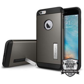 Spigen pouzdro Slim Armor pro iPhone 6S Plus, kovově šedé