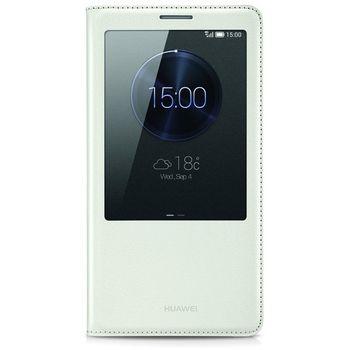 Huawei View flipové pouzdro pro Mate 7, bílá