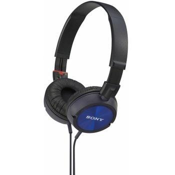 Sony uzavřená sluchátka ANYWHERE MDR-ZX300 - modrá