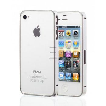Esperia hliníkový rámeček pro Apple iPhone 5/5S, stříbrný