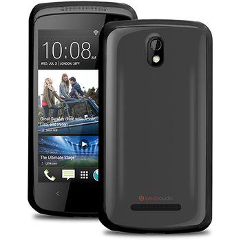 Puro silikonové pouzdro pro HTC Desire 500, černá