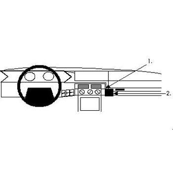 Brodit ProClip montážní konzole pro Citroen XM 90-94, na střed