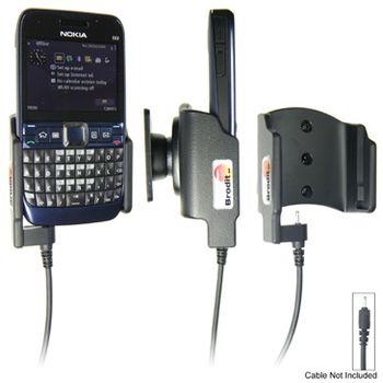 Brodit držák pasivní - Nokia E63 (pro použití s orig. kabelem Nokia CA-116,CA-113CU a CA-134)