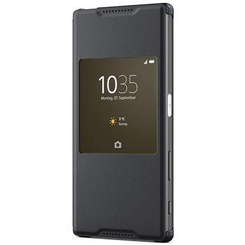 Sony flipové pouzdro Style Cover Window SCR42 pro Xperia Z5, černé