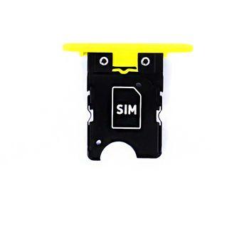 Náhradní díl držák SIM pro Nokia Lumia 1020, žlutý