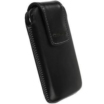 Krusell pouzdro Vinga - L - Nokia N8/N900, Sony Ericsson Xperia X2/Aspen/P990 114x67x16mm (černá)