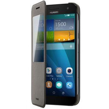 Huawei flipové pouzdro S-View pro G7, hnědá