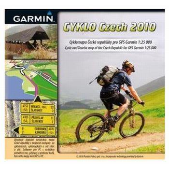 Garmin Cyklo Czech 2010 plná verze