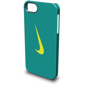 Nike Swoosh kryt pro iPhone 5/5S, modro-žlutý