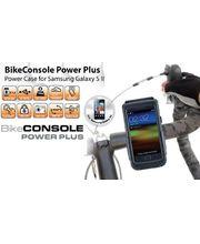 Držák BikeConsole Powerplus na Samsung Galaxy S II se záložním akumulátorem 1100mAh