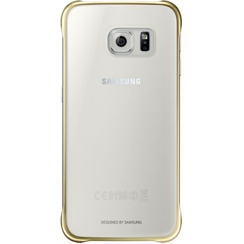 Samsung ochranný zadní kryt EF-QG920BF pro Galaxy S6, zlatá