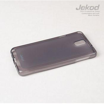 Jekod TPU silikonový kryt pro Samsung N9100 Galaxy Note 4, černý
