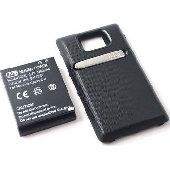 Mugen Power Extended Battery 3200mAh pro Samsung Galaxy S II včetně krytu