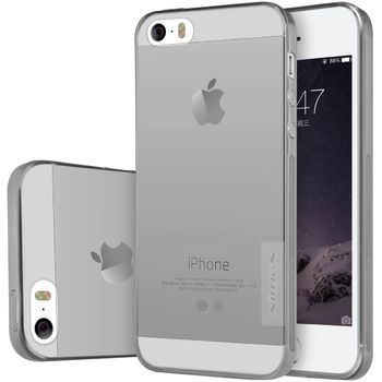 Nillkin pouzdro Nature TPU pro iPhone 5/5S/SE, šedý