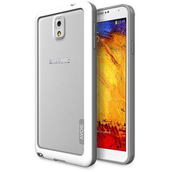 Zenus AVOC Bumper solid pro Samsung Galaxy Note 3, bílá / šedá