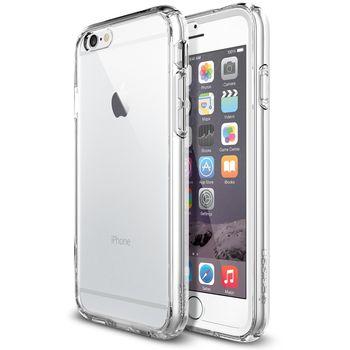 Spigen tenký kryt Ultra Hybrid FX pro Apple iPhone 6, transparentní