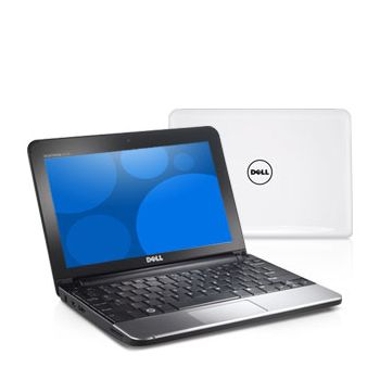 "Dell Inspiron Mini 10""/Atom N270/1GB/160GB/WiFi/CAM/BT/WSVGA/XP/bílý"