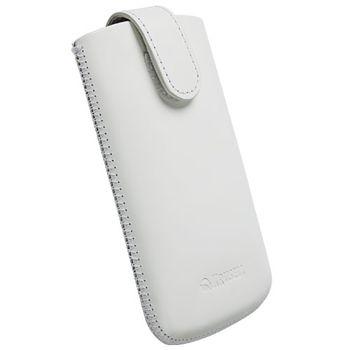Krusell pouzdro Aspero XL - Samsung Galaxy Y Duos, HTC Desire C, Defy Plus  110x64x15 mm (bílá)
