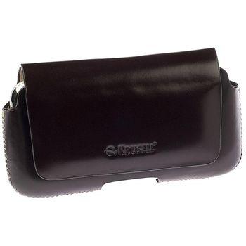 Krusell pouzdro Hector - M - wide - Motorola DEFY, Nok 5530, Sam S5230, SE X8 113x55x19mm (hnědá)