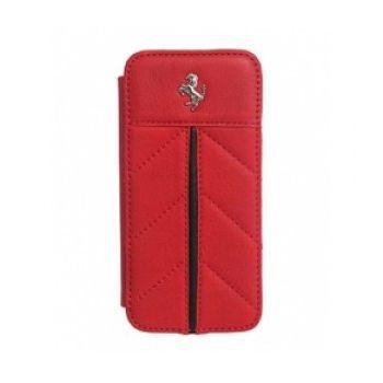 Ferrari California Book pouzdro pro iPhone 5, červené