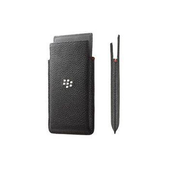 BlackBerry kožené pouzdro pro BlackBerry Z20/Leap, černé