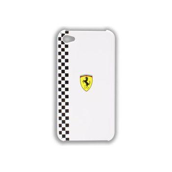 Ferrari Formula zadní kryt pro iPhone 4/4S, bílý