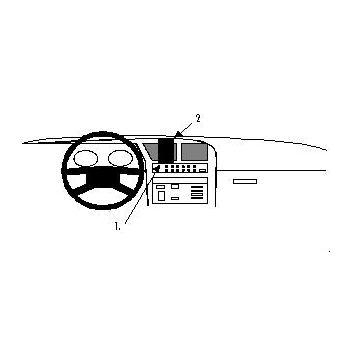 Brodit ProClip montážní konzole pro Fiat Croma 91-96, na střed