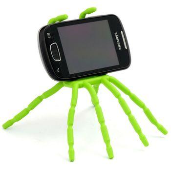 Spiderpodium - univerzální držák pro telefony (zelená)