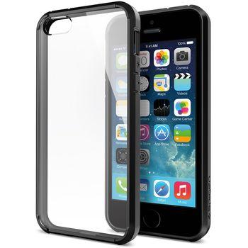 Spigen pevné pouzdro Ultra Hybrid pro iPhone 5/5S/SE, černá