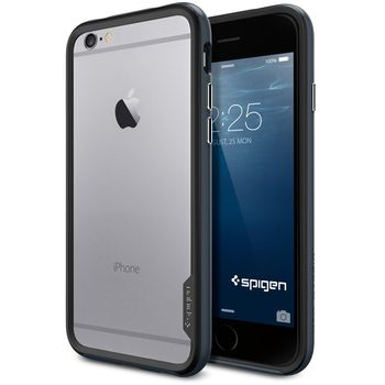 Spigen pouzdro Neo Hybrid EX pro iPhone 6, kovově modrá