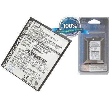 Baterie náhradní pro Samsung B5722, i8510, T749, D780, i550, W709, Li-ion 3,7V 1000mAh