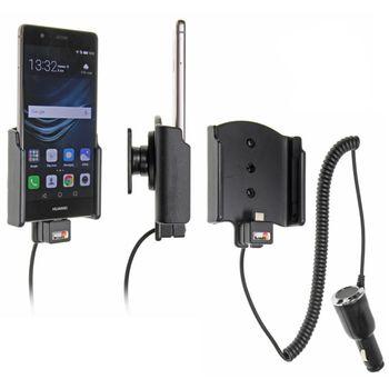 Brodit držák do auta na Huawei P9  bez pouzdra, s nabíjením z cig. zapalovače