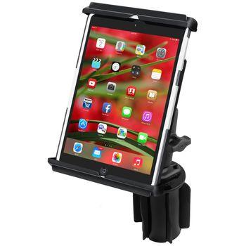RAM Mounts univerzální držák na iPad mini do auta do držáku na nápoje, sestava RAP-299-3-TAB12U